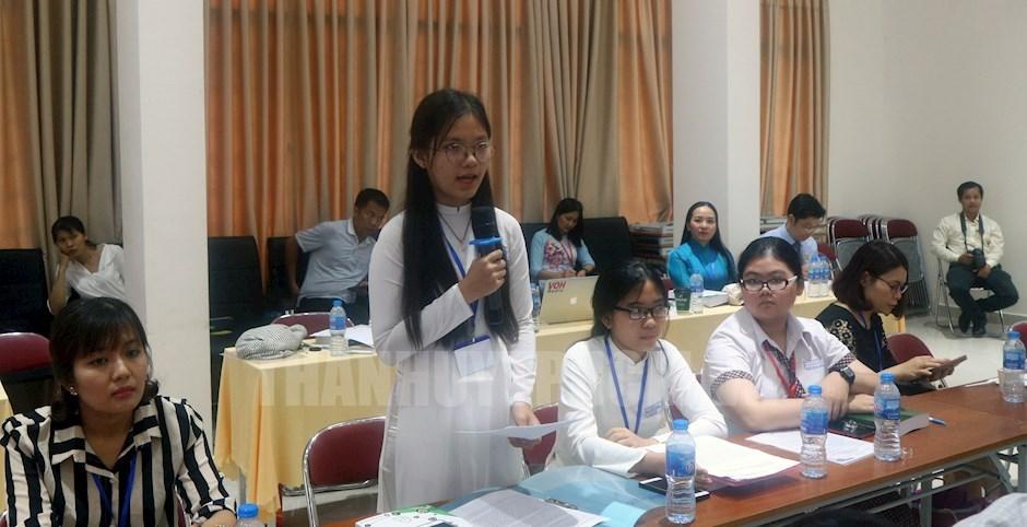 Nhiều học sinh bày tỏ mong muốn đối với thầy cô