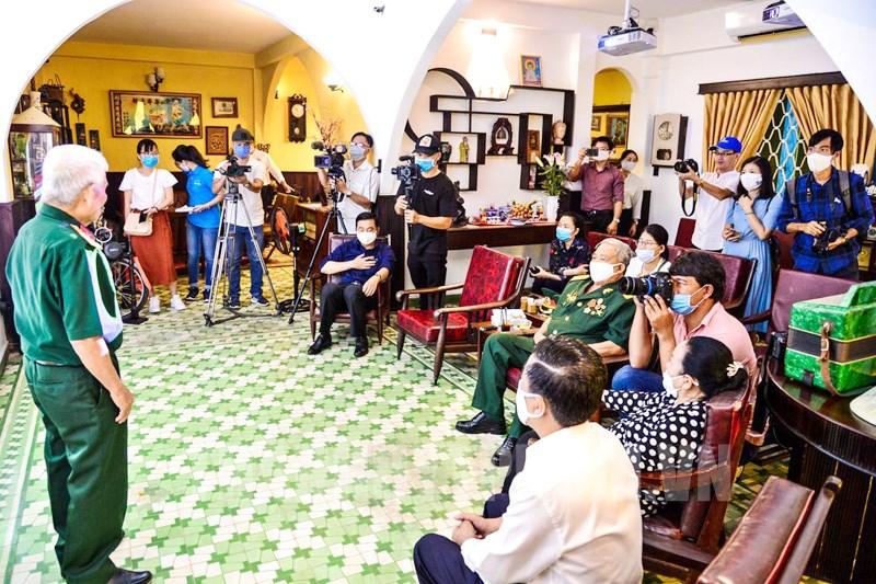 Gặp gỡ các nhân chứng lịch sử của lực lượng Biệt động Sài Gòn.