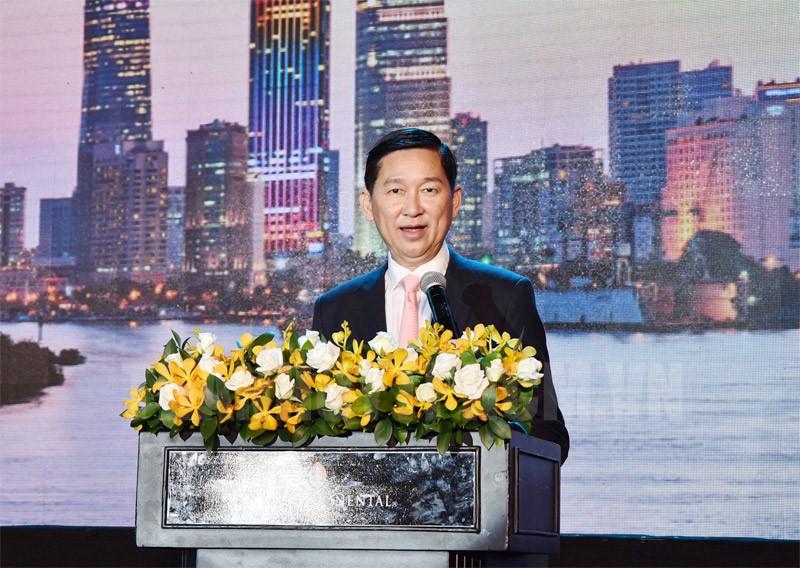 Phó Chủ tịch UBND TP Trần Vĩnh Tuyến phát biểu kết luận hội thảo.