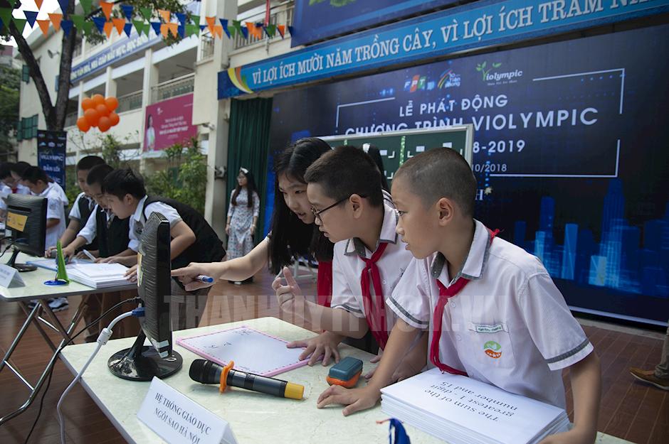 Phát động cuộc thi Violympic năm học 2018-2019