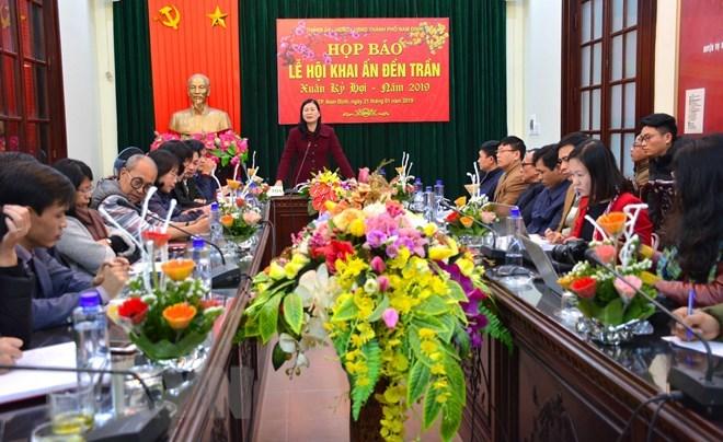 Chợ Viềng Nam định 2019: Lễ Khai ấn đền Trần-Nam Định 2019: Đảm Bảo đủ ấn Phát Cho
